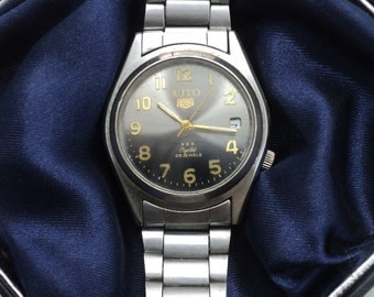 SALE - Vintage watch, Japan watch, Mens watch, Mechanical watch ,AUTO Watch ,Watch Men , Japan Watch