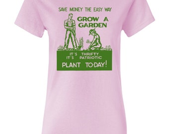 Grow A Garden World War II Poster Womens T-shirt