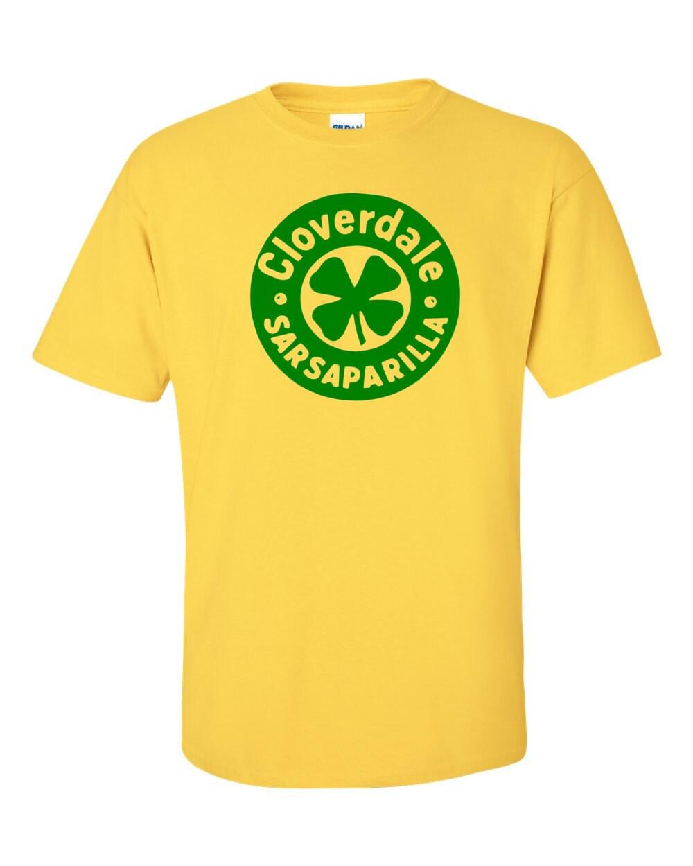 Cloverdale Sarsaparilla Vintage Bottle Cap T-shirt