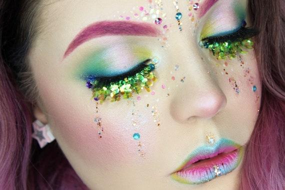 Tropical Mermaid Cosmetic Glitter Face Pack