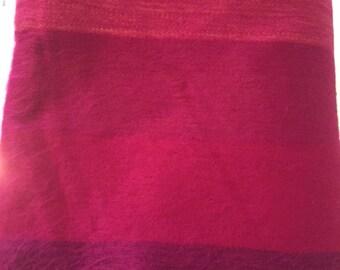 Handmade Alpaca Blanket in different colors