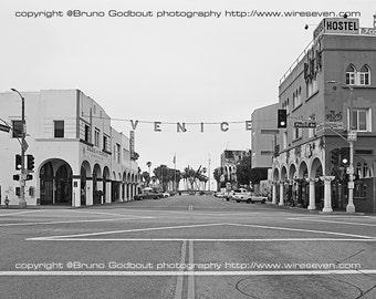 Gloomy Venice Morning - Los Angeles, CA  2015