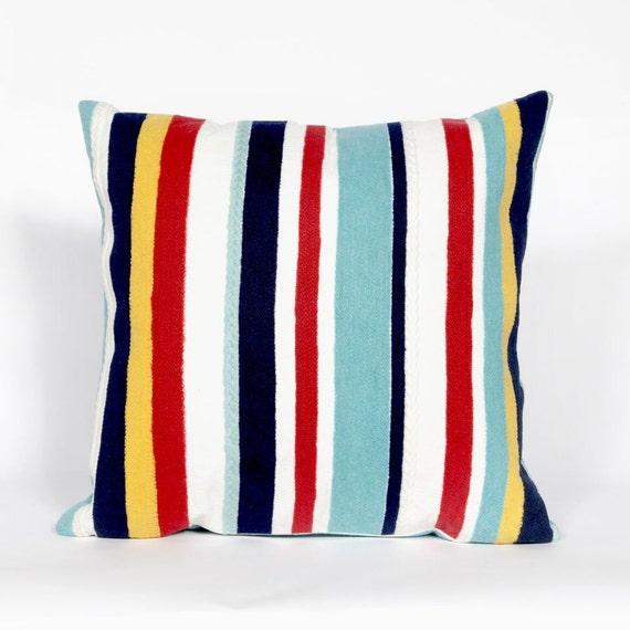 Outdoor Beach Throw Pillows : Indoor Outdoor Beach Theme Handmade Decorative Throw Pillow