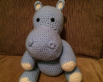 Billy the Blue Hippo