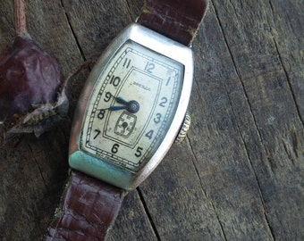 Old and rare soviet woman's watch - Zvezda (Star) 15 Jewels 1950's, womens watch, bracelet watch, leadies watch, vintage mechanical watch