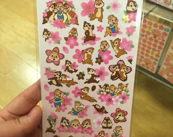 Disney Sakura Seals/Stickers