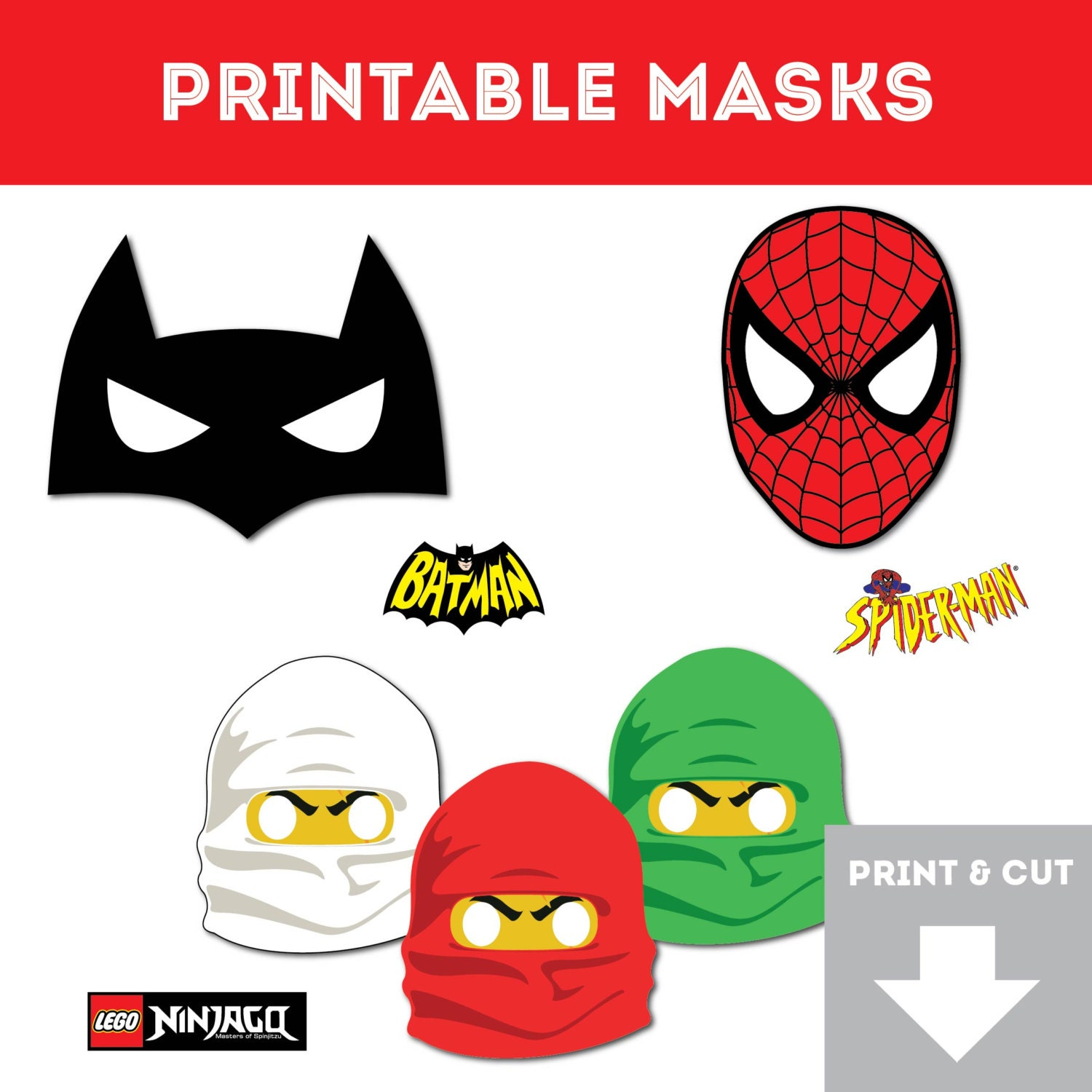 Invaluable image intended for ninjago mask printable