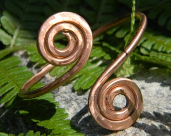 Celtic handmade copper bracelet