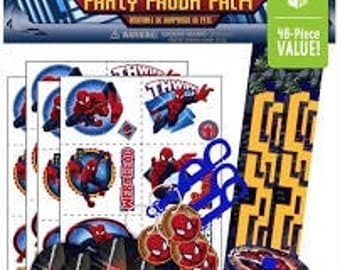 Spider-Man party favor pack
