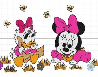 Minnie mouse and Daisy duck Minesweeper