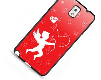 Valentine's Day Cupid For LG G2 G3 G4 Moto X Moto G 1st and 2nd Generation HTC M8 M9 Snap on case