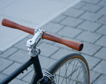Handmade Wood Bicycle Handlebar Lathe - Madison