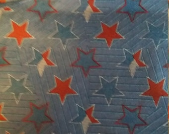 Napkin Drink Coasters - Red White Blue Stars