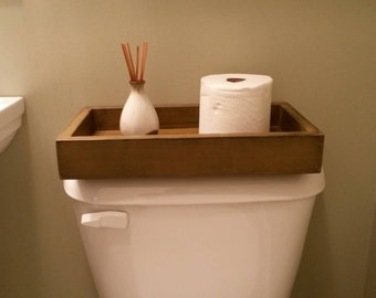 Handcrafted Toilet Tray
