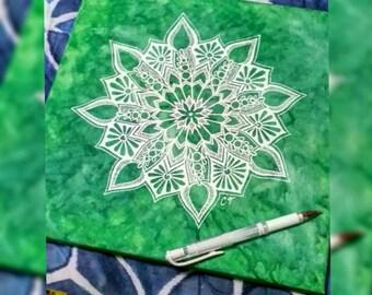 Lime Mandala