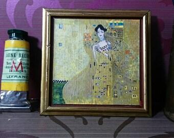 """Version of """"portrait of Adele Bloch-Bauer"""" of G. Klimt"""