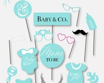 baby co baby shower props diy printable baby shower props photo booth