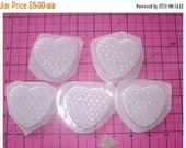 Sale 30% Off Gorgeous Mermaid Scale Heart - Flexible Plastic Resin Mold