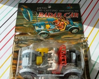 Vintage 1970s Radar Car Rack Toy (Moon Buggy)