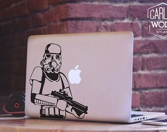 Macbook sticker/ Creative vinyl decal/ The Star Wars Decal