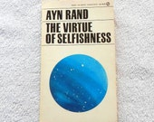 Ayn Rand The Virtue of Selfishness 1964 Vintage Paperback Edition