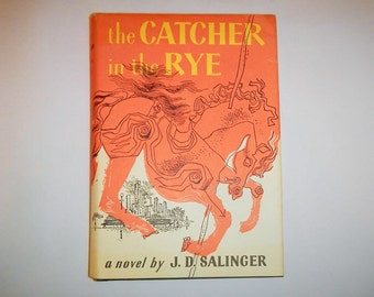 The Catcher In The Rye J. D. Salinger Vintage 1951 Edition