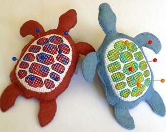 Turtle Pincushion - A PDF NZ pattern
