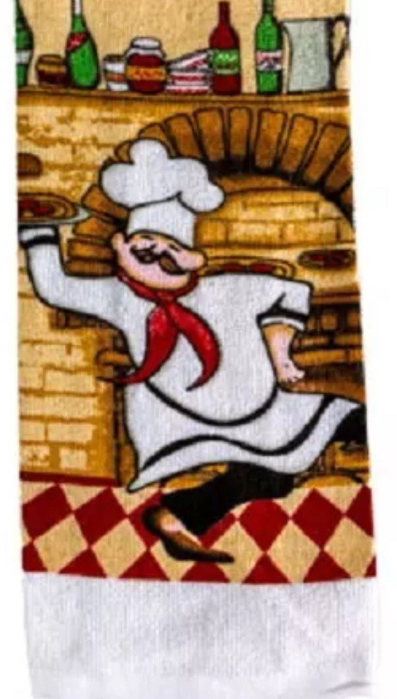 Items Similar To 3 Fat Chef Themed Kitchen 25