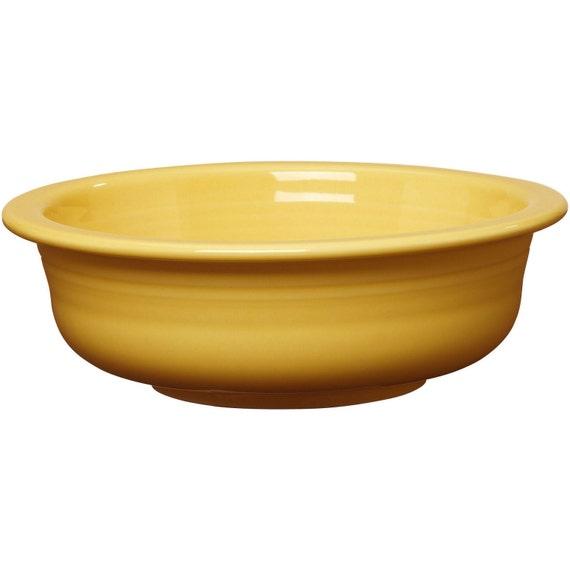Large Fiesta Fiestaware Bowl Sunflower Yellow