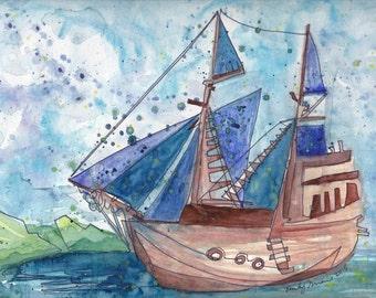 SS Dreamboat PRINT