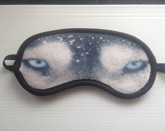 Husky-Super Heroes-Eye Mask-Travel Mask-Sleep Mask-Eye Wear-Travel Mask