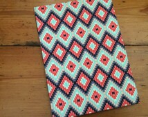 Large Notebook in an Aztec Fabric