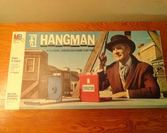 1976 Milton Bradley Hangman Game #4623