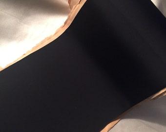 Extra Wide Ribbon, Vintage Black Ribbon, Black Faille Ribbon, Vintage Rayon Ribbon, Wide Grosgrain Ribbon, Vintage Grosgrain