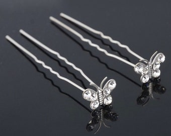 Bridal hair pins Wedding hair pin Bobby pins crystal Hair Pins Hair accessories wedding hairpins