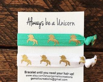 Unicorn, Unicorn Party, Hair Ties, Unicorn Birthday, Birthday Party, Unicorn Party Favors, Unicorns, Hair Ties, Pink Hair Ties