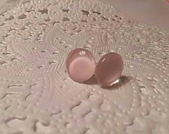 1 pair of ears Baby Pink 10mm chip