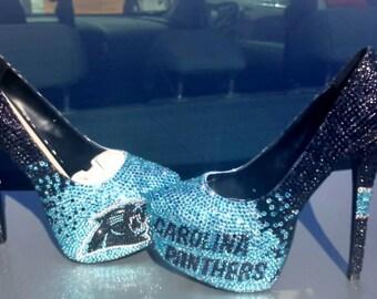 Sports Customize Bling Heels!!! All crystal Sport designed heel, pumps