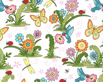Meadow Friends by Deb Strain (19480-11) Quilting Fabric by the 1/2 Yard