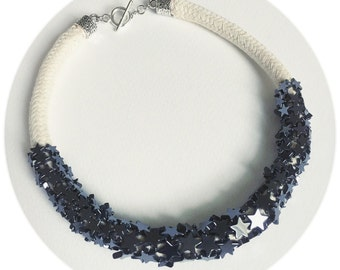 Star Hematite Necklace
