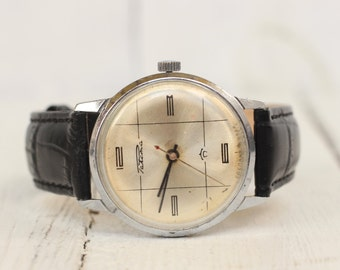 Vintage Raketa watch Mechanical watch man Gift him watch Russian watch 80s USSR retro watch Watches for men Rare classic watch Men's Watch