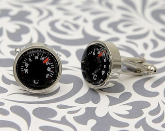 ON SALE Celsius Temperature Functional Cufflinks