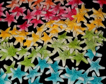 30x Starfish Beach Edible Fondant Cake Cupcake Toppers