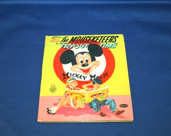The Mouseketeer's Tryout Time, A Whitman Tell-a-Tale book #2649 by Revena Copyright 1956 by Walt Disney Productions