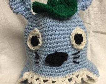 Crocheted Totoro Hat