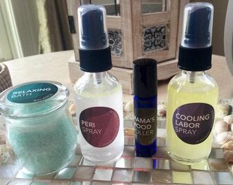 Prenatal and Post-Birth Sprays & Blends