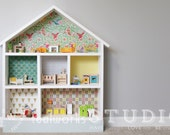 Simple Dollhouse - Modern Dollhouse - Wood Dollhouse