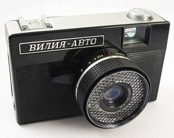 VILIA AVTO Russian Soviet 35mm Film BELOMO Camera