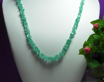SAVE 20% Apatite Necklace 20.5inch 139ct52ct