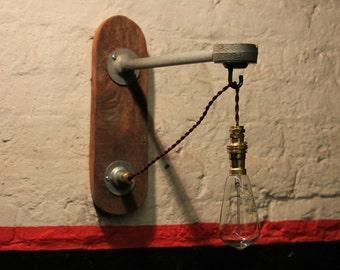 Wall Light - Industrial Lighting - Lighting - Vintage Light - Rustic Lighting - Wall lighting - Home & Living - Rustic - Vintage - Furniture